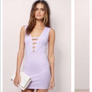 """""""Tobi"""" Purple Bodycon Cut-Out Dress- NEW"""